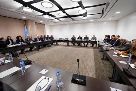 La delegación siria llega a Ginebra en un ambiente nada propenso a avances