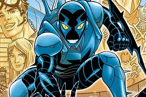 Warner Bros. prepara una cinta sobre Blue Beetle protagonizada por un latino