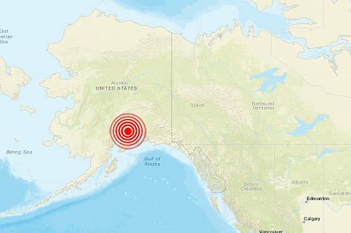 """""""Graves daños"""" por un terremoto de magnitud 7,0 en Alaska"""