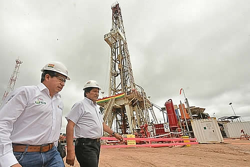 Experto dice que pozo Boyuy X2 contiene gas enriquecido