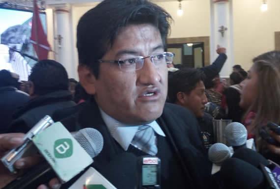 Jesús Vera es candidato del MAS a diputado por la Circunscripción 6