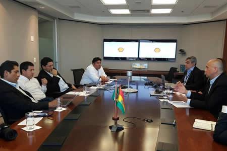 Shell Brasil expresa interés de comprar gas boliviano a partir de 2019