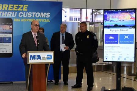 Aeropuerto de Miami, el primero con app con Control de Pasaportes integrado