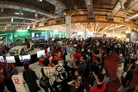 La inmersión virtual conquista la mayor feria de videojuegos de Latinoamérica
