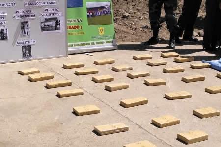 Policía antidroga decomisó hasta la fecha más de 229 toneladas de droga y 17 avionetas