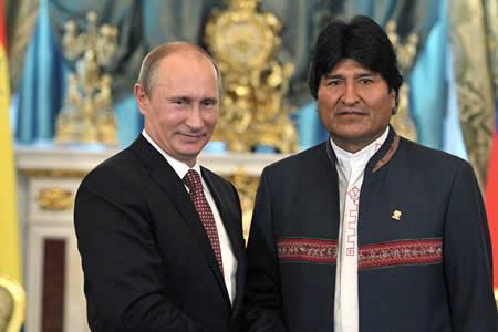 Morales confirma llegada de Putin a Santa Cruz para Foro de Países Productores de Gas