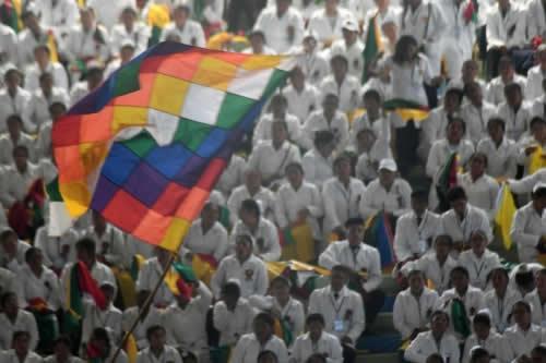 """Morales revalida política de """"salud para todos"""" como obligación del Estado"""