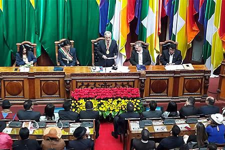 García Linera pronostica que Bolivia dará un gran salto a la era industrial