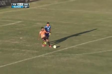 El gol más insólito de la historia del fútbol lo hicieron en Uruguay