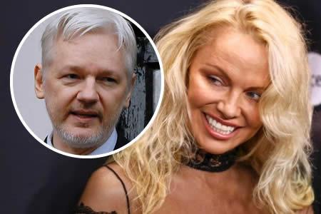 Pamela Anderson ve en Assange un genio que trata de ayudar a la humanidad