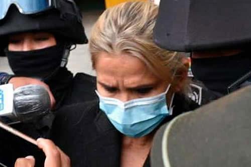 Régimen Penitenciario: Áñez se negó a recibir atención médica
