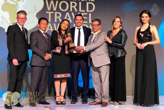 Bolivia gana cuatro World Travel Awards 2019