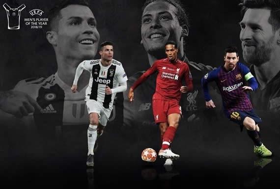 La UEFA anuncia a los finalistas al premio al mejor jugador del año