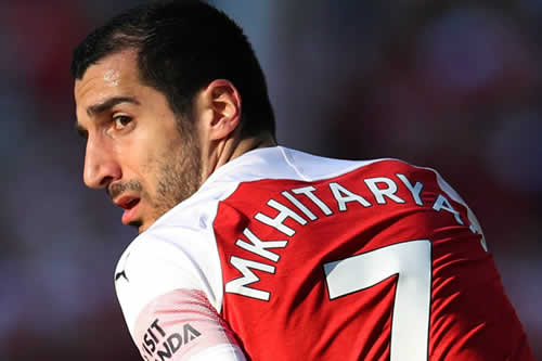 Mkhitaryan se perderá la final de la Liga Europa por seguridad