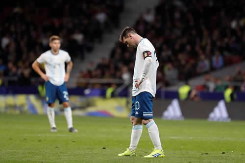 Messi revive la frustración