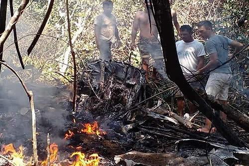 Seis personas mueren en trágico accidente de una avioneta de la FAB