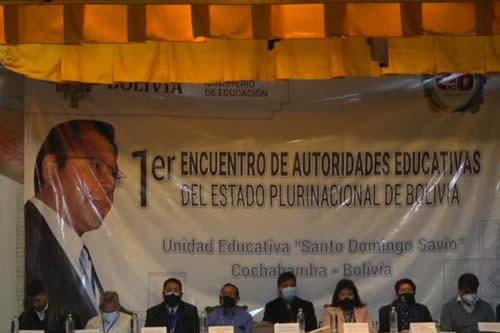 Ministro prevé que hasta fines de abril el 100% de los estudiantes haya recuperado su derecho a la educación