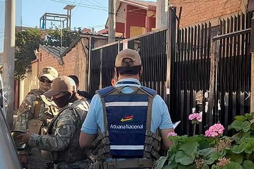 Aduana contabiliza 14 personas detenidas y 280 denuncias penales presentadas en la lucha contra el contrabando