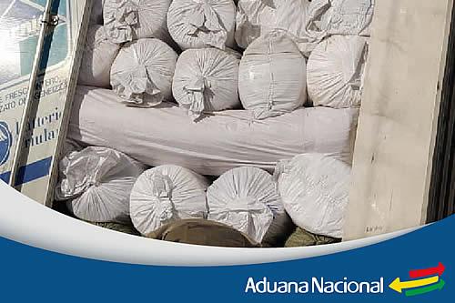 Aduana comisa mercancía valuada en Bs 105.000 en Cochabamba