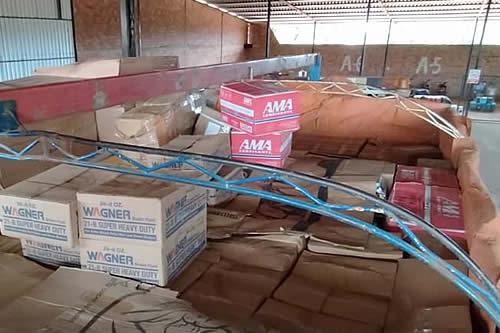 Aduana Nacional comisa bebidas, artículos de limpieza y comestibles valuados en Bs 282.000 en Beni