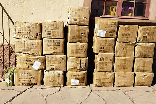 Aduana comisa mercancía valuada en Bs 350.000 mediante operativos en La Paz