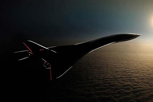 Aerion presenta un avión supersónico para 50 pasajeros y velocidad de Mach 4