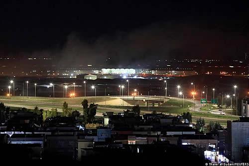 """Atacan con """"drones explosivos"""" el aeropuerto iraquí de Erbil"""