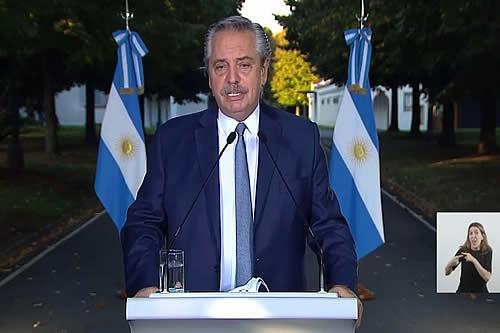 Fernández alerta que Argentina entró a la segunda ola de contagios del COVID-19 y endurece restricciones