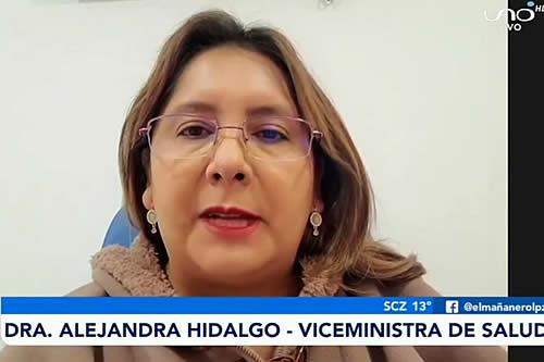 Viceministra: Ley de Emergencia Sanitaria garantiza la atención médica; y la prohibición de paro busca no arriesgar la salud de la población