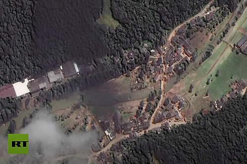 Imágenes satelitales del antes y después de las inundaciones que se cobraron más de 160 vidas en Alemania