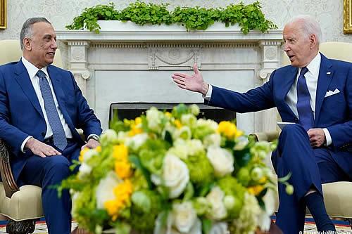 Biden confirma retiro de tropas de Irak