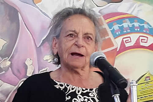 Amparo Carvajal manda lista de 45 'presos políticos' al Fiscal General y le pide que se defiendan en libertad