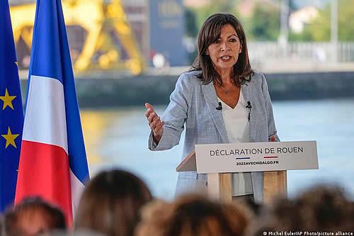 Francia: Hidalgo, favorita como candidata del Partido Socialista