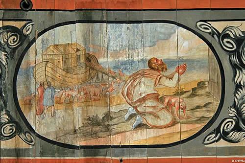 Arca de Noé holandesa permanece varada en Inglaterra por falta de pintura adecuada