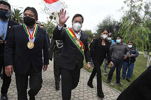 Autoridades conmemoran los 204 años de la Batalla de La Tablada en Tarija