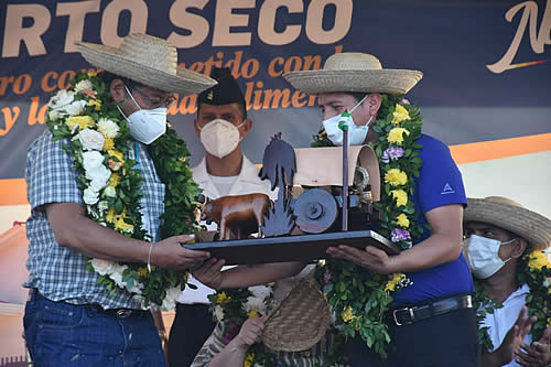Presidente inaugura Puerto Seco, un parque agroindustrial construido con más de Bs 14 millones en Montero