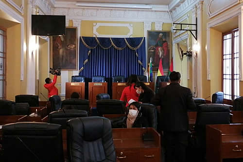 Surge controversia en la Asamblea de La Paz; acusan al MAS de tardanza en entrega de documentos