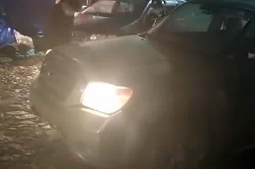 Filman a dirigente que de ebrio amenazó a policía: 'acordate que te voy a quemar'