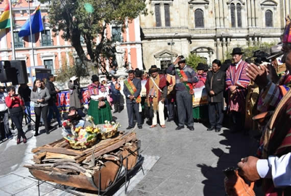 Morales recibirá el Año Nuevo Andino Amazónico y del Chaco 5527 en Tiahuanaco