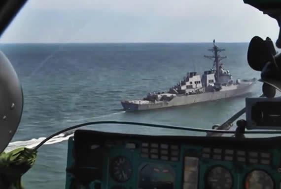 Rusia realiza ejercicios navales en el mar Negro en paralelo a las maniobras de la OTAN