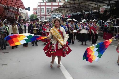 Anuncian que 30 grupos autóctonos participarán en el Jach'a Anata de Oruro