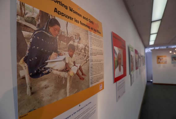 Matrimonios forzados, una exposición refleja la realidad de millones de niñas