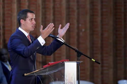 """Guaidó insta a organismos a reflexionar por """"tardanza"""" ante crisis venezolana"""
