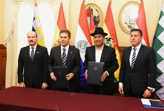 Bolivia y Paraguay suscriben Acta del Mecanismo de Diálogo 2+2 después de 9 años