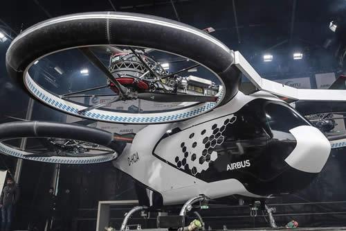 Airbus presenta un taxi aéreo autónomo para revolucionar el transporte público