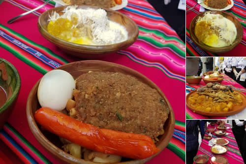 """Seleccionan ocho propuestas para elegir el """"Plato bandera"""" de la ciudad de El Alto"""