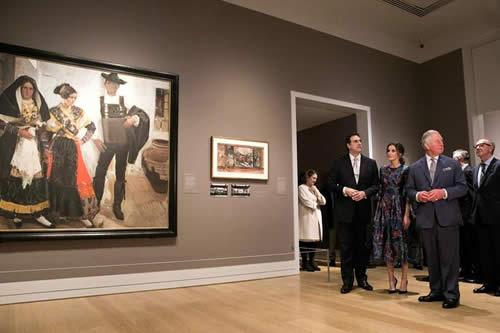 La reina Letizia inaugura la mayor muestra de Sorolla en la National Gallery