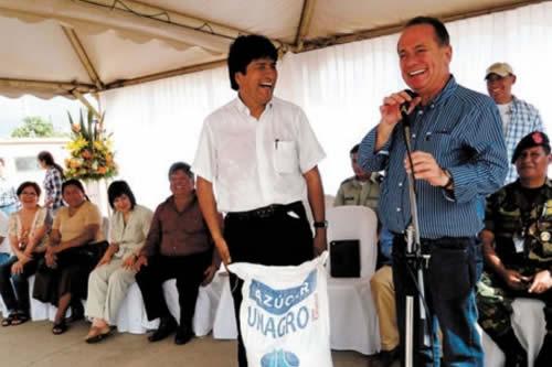Morales desea éxito a nuevo presidente de Empresarios Privados y reitera predisposición de trabajo conjunto