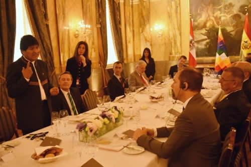 Empresarios de Austria destacan crecimiento de Bolivia y expresan interés de invertir