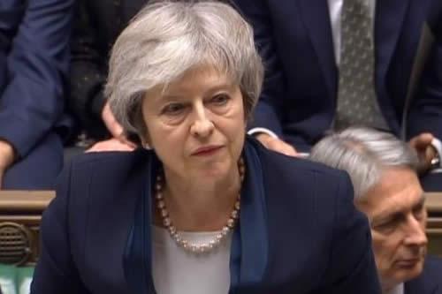 May, dispuesta a intentar por tercera vez que su acuerdo del brexit prospere